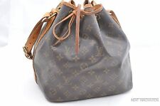 Authentic Louis Vuitton Monogram Petit Noe Shoulder Bag LV 28873