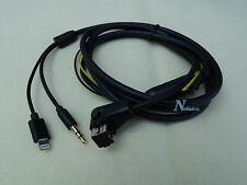 PIONEER IP-BUS 8-Pin LIGHTNING iPHONE 6S 6 5 AUX CABLE DEH-P77DH DEH-P7000BT