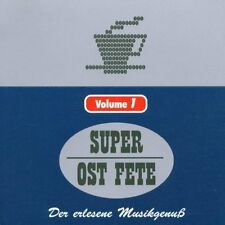 Die Super Ost Fete Vol.1 - Various  *CD*   NEU&OVP!