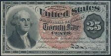Fr1303 4Th Issue 25¢ Fractional Currency Choice Unc Br5604