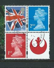 GREAT BRITAIN 2015 STAR WARS 3 NEW STAMPS EX. PRESTIGE BOOK  FINE USED