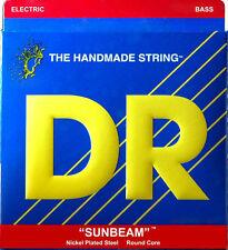 2 sets DR Strings Sunbeams NLR40 Nickel Lite Gauge Bass Strings