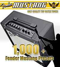 Fender Mustang Amp V1 V2 - Amplifier Preset Collection / Top Quality Tones!
