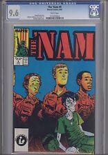 Nam #9 CGC 9.6 1987  Marvel  War Comic