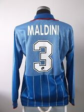 Paolo MALDINI #3 AC Milan L/S Fourth Football Shirt Jersey 1995/96 (L)