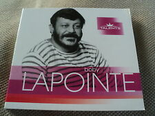 """CD DIGIPACK """" BOBY LAPOINTE - TALENTS"""" best of 15 titres"""