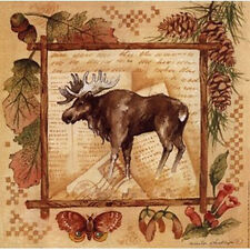 Moose by Anita Phillips Moose Wildlife Animals Autumn Open Editd Paper Print