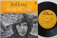 NEIL YOUNG Heart Of Gold ORIGINAL Ep AUSTRALIA ONLY 1970s SOUTHERN MAN 45 VG+