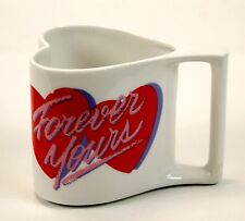 Heart Shaped Mug Great for Gift Idea to fill with Candy Valentine Coffee Cup