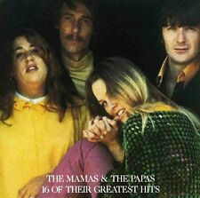 16 Greatest Hits - Mamas & The Papas (1987, CD NIEUW)