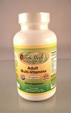 Adult Multi-vitamins, High Quality Made in USA-  100 capsules