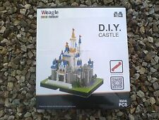 Cinderella Castle Nanoblock Diamond Nano Block Kawada Look alike made by Weagle