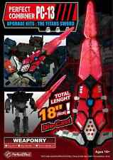 New Transformers Perfect Effect PE PC-13 Titan Series Ford kit alloy sword
