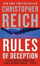 Rules of Deception, Christopher Reich, Good Condition, Book