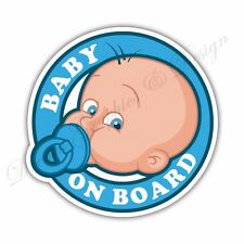 Baby on Board Full Color Adhesive Vinyl Sticker Window Car Bumper 06