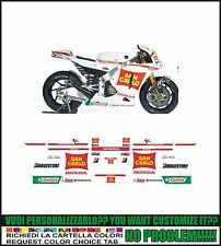 kit adesivi stickers compatibili cbr 600 1000  team gresini san.carlo 2011