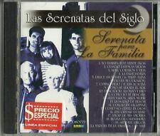 Las Serenatas del Siglo Serenata Para La Familia Latin Music CD