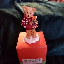 Boyds Bears Cooper Goodfriend with Sly...Cozy Companion 1st Ed. New Retired