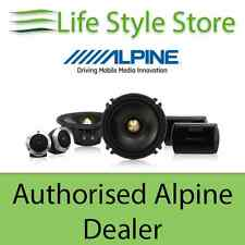 "Alpine DLX-F17S 6 1/2"" 2 Way Component Speakers"