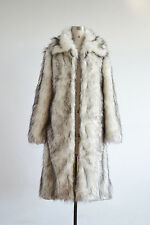 New Men's Faux Fur Long Coats Winter Lapel Parka Thick Overcoat Jackets 3 Colors