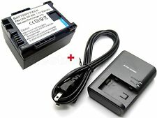 Battery & Charger for BP-807 Canon VIXIA HF S11 HF S20 HFS20 HF S200 HFS200 new