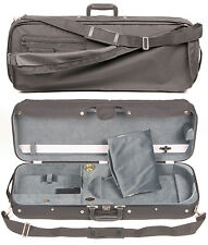 JSI-Bobelock 1009 Adjustable Viola Case with Gray Velour Interior - AUTHORIZED!
