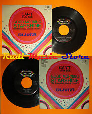 LP 45 7'OLIVER Can't you see Good morning Starshine 1969 italy JUBILEE cd mc dvd