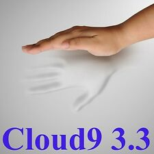 """3.3 CLOUD9 FULL / DOUBLE 3"""" MEMORY FOAM BED TOPPER WITH COVER"""
