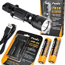Fenix TK15UE 1000 Lumen LED tactical Flashlight w/ARB-L18-3400mAh Rechargeable