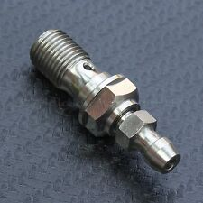 Titanium Clutch Slave Cylinder Banjo Bolt with Bleeder Valve for Ducati, KTM ...