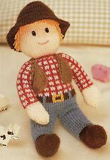 cowboy toy dk knitting pattern