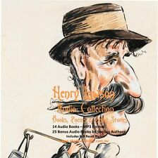 CD - Henry Lawson Audio Collection - 14 Audio + 25 Bonus Audio Books