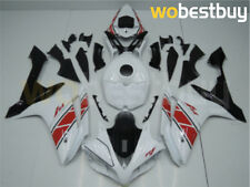White Red Black ABS Injection Molded Fairing Fit for YAMAHA 2007 2008 YZF R1 d14