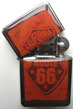 Vintage Motorbike Sign Windproof LIGHTER California Route 66