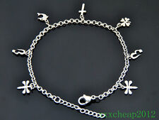 Mixed Style 316L Stainless Steel Ankle Bracelet Charm Anklet JL07