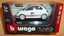 MODELLINO BURAGO RACE ABARTH 500   1:43 cod.8360