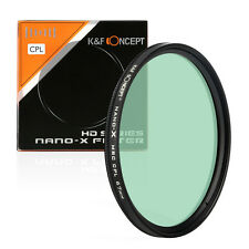 K&F 67mm Pro Super Slim CIR CPL MRC Nano-X HD Schott Glass Multi-Coated Filter