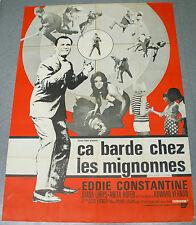 Affiche de cinéma : CA BARDE CHEZ LES MIGNONNES de JESUS FRANCO
