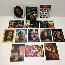 THE BOB MARLEY LEGEND Complete RETAIL GOLD SIGNATURE Card Set + 12 SUBSET CARDS