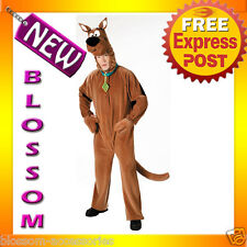 C135 Mens Deluxe Adult Scooby-Doo Halloween Costume M-L