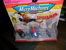 1993 The Amazing Spider-Man Marvel Comics Collection #1 Micro Machines Galoob