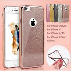 New Bling Silicone Glitter ShockProof Case Cover For Apple iPhone 6 6S Plus SE