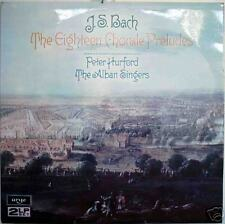 BACH: Eighteen Chorale Preludes - MINT 1976 2LP IMPORT