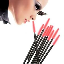 50Pc Silicone Head Disposable Mascara Wands Eyelash Brushes Extention hot N4FL