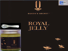 Queen's secret™ 100% Pure and Fresh Royal Jelly 100g +FREE mother of pearl spoon