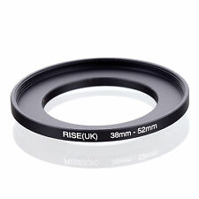 38mm-52mm 38mm to 52mm  38 - 52mm Step Up Ring Filter Adapter for Camera Lens