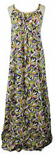 BODEN Women's Multi Printed Maxi Dress w/ Adjustable Straps US Size 16 L NEW