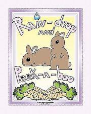 Rain-drop and Peek-a-boo: A Very Bunny Documentary