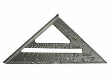 "FAITHFULL QUICK & EASY ALUMINIUM ROOFING SQUARE 7"" / 18CM"