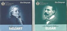 THE ROYAL PHILHARMONIC ORCHESTRA plays MOZART & ELGAR - Double CD